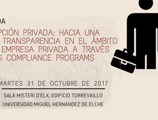 jornadas sobre Corrupción, Transparencia y Compliance
